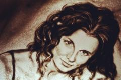Песочный портрет