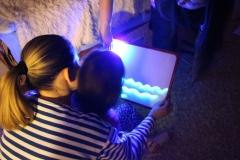 Планшет для рисования светом для ребенка